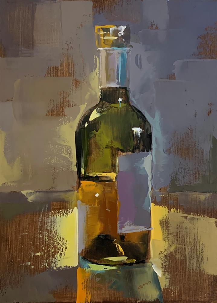 """""""White balsamico"""" original fine art by Ans Debije"""