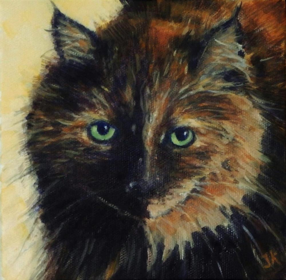 """""""Queen of Her Domaine"""" original fine art by J Kelsey"""