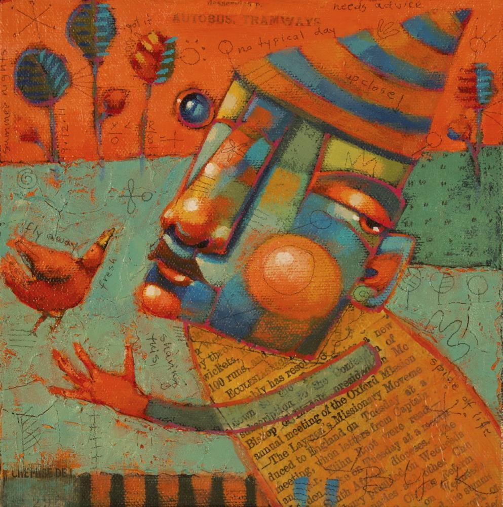 """""""Birdy And Joe"""" original fine art by Brenda York"""