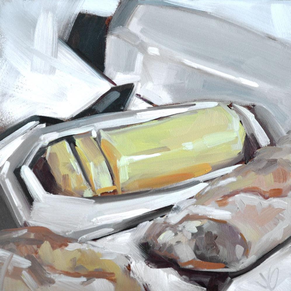 """""""Butter"""" original fine art by Jessica Green"""