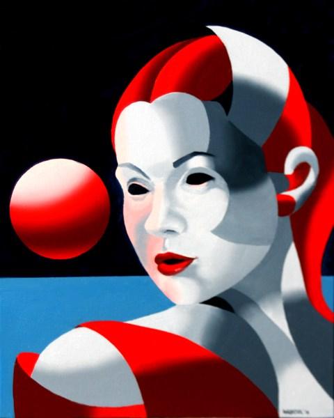 """Mark Adam Webster - Dark Matter Painting Series #8"" original fine art by Mark Webster"