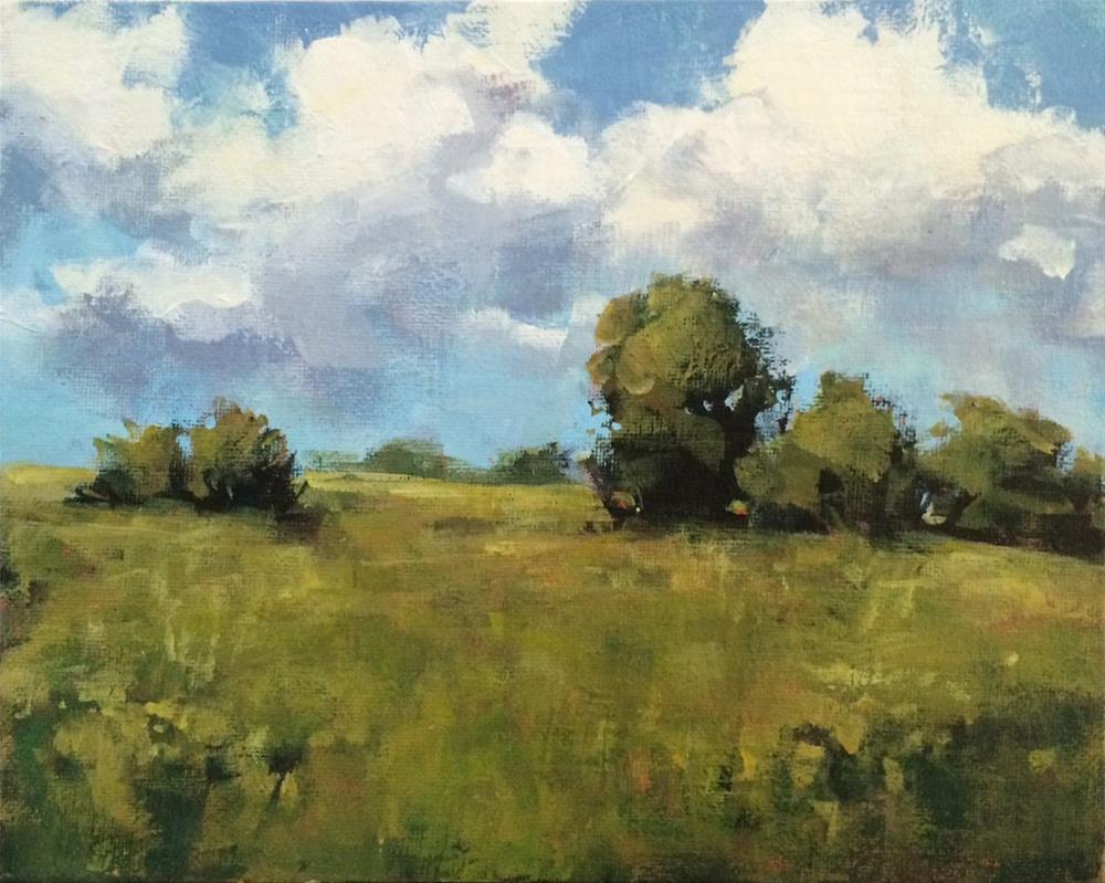 """Duxbury Walk"" original fine art by Shannon Bauer"