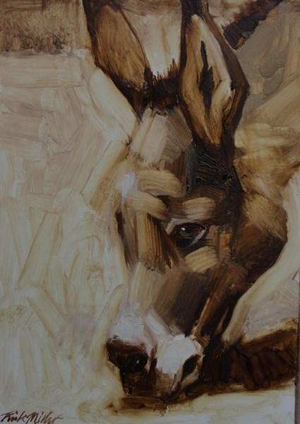 """""""Cheyenne"""" original fine art by Kirk Miller"""