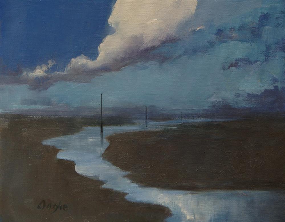 """Tide Pools"" original fine art by Angela Ooghe"