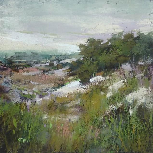 """""""Painting Titles That Work"""" original fine art by Karen Margulis"""
