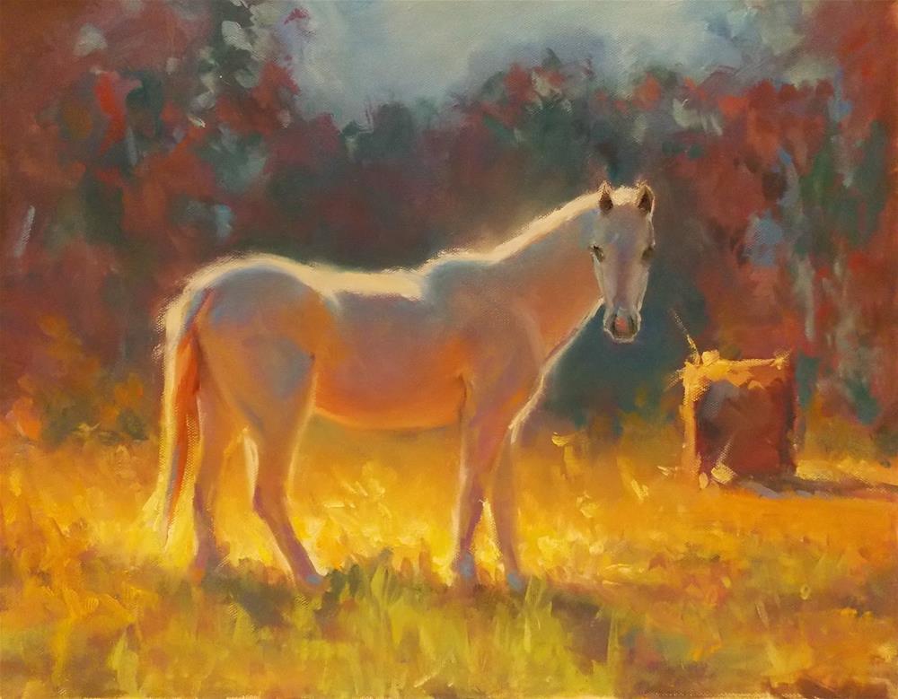 """ Fire and Ice"" original fine art by Doug Carter"