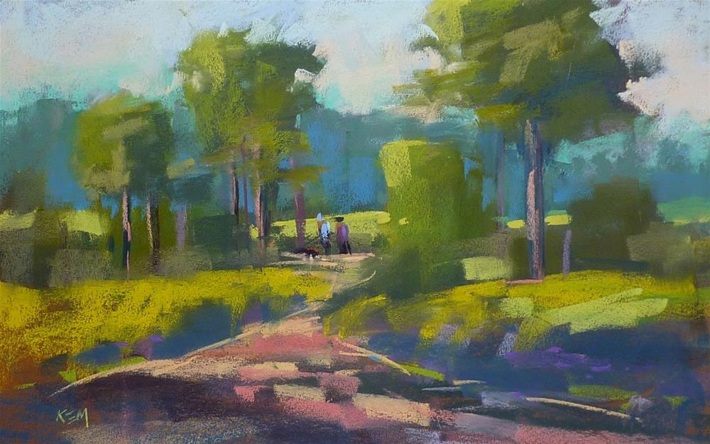 """""""Three Tips for Painting the Green Stuff"""" original fine art by Karen Margulis"""