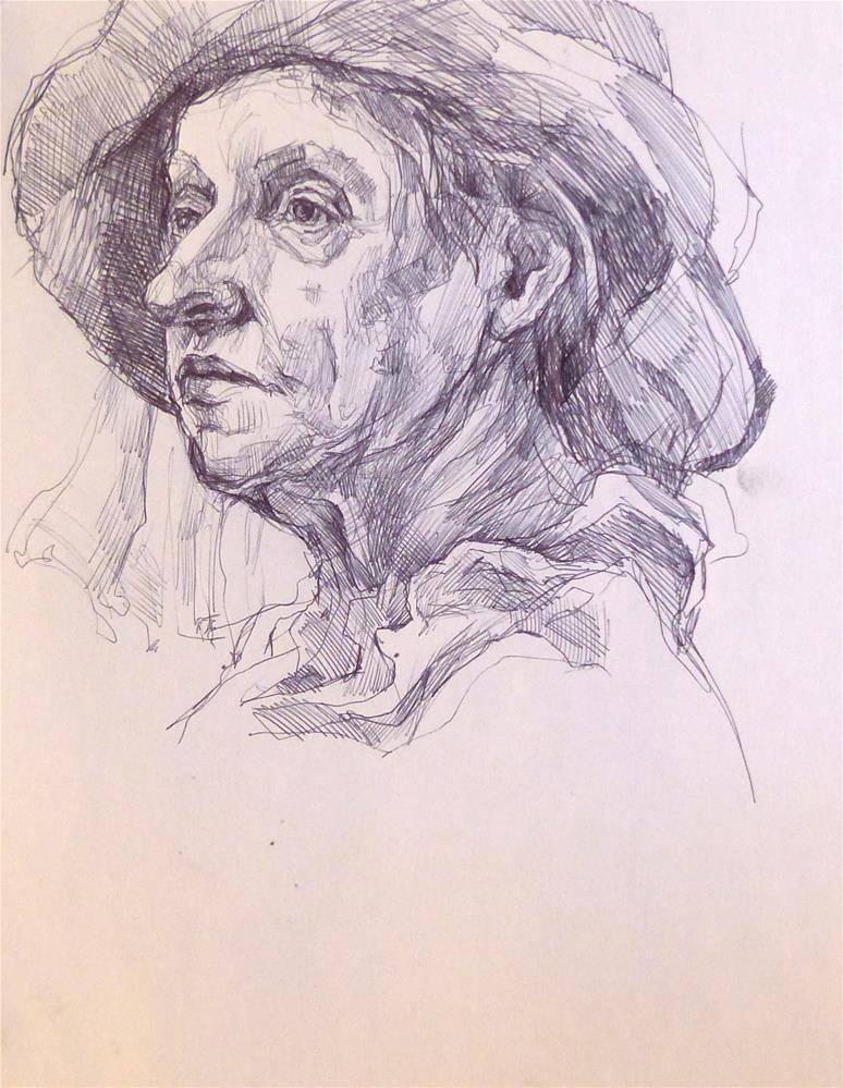 """sketchbook34"" original fine art by Katya Minkina"