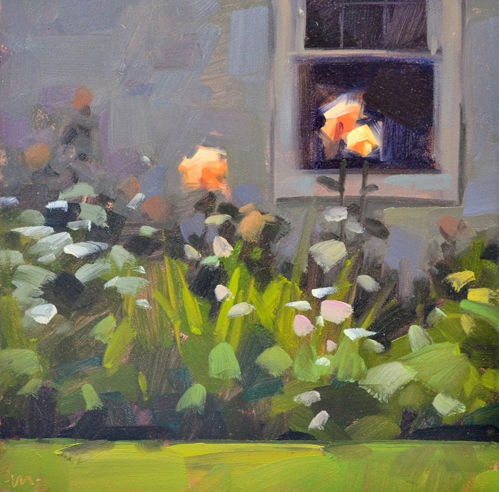 """""""Curious Roses"""" original fine art by Carol Marine"""