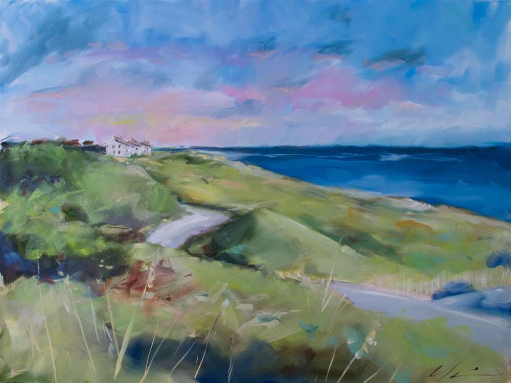 """Bald Head Island Commission"" original fine art by Clair Hartmann"