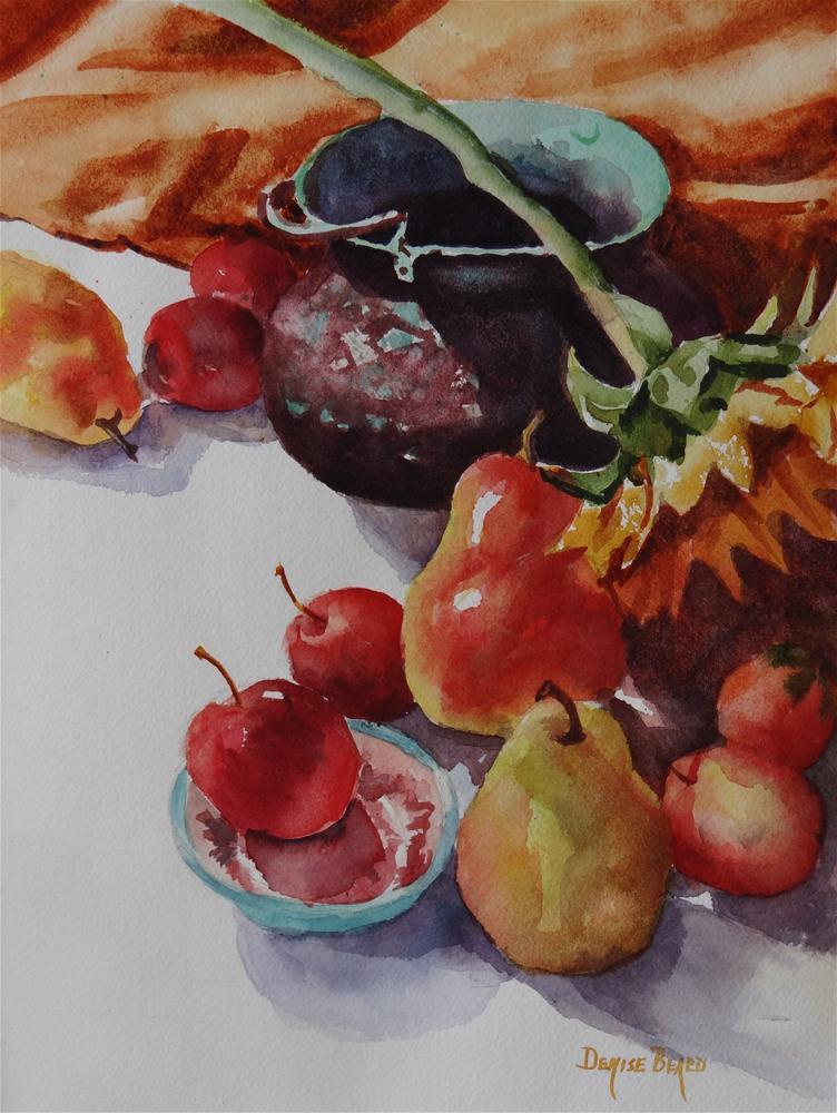 """""""Harvest"""" original fine art by Denise Beard"""