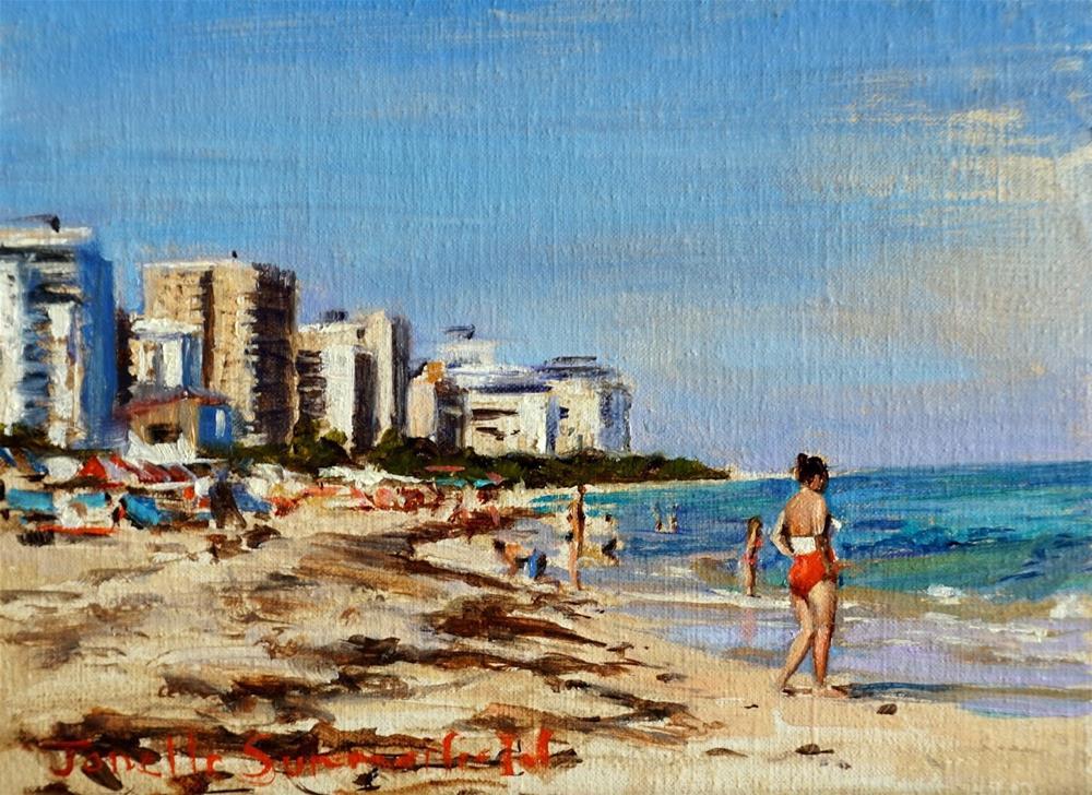 """Miami Beach"" original fine art by Jonelle Summerfield"