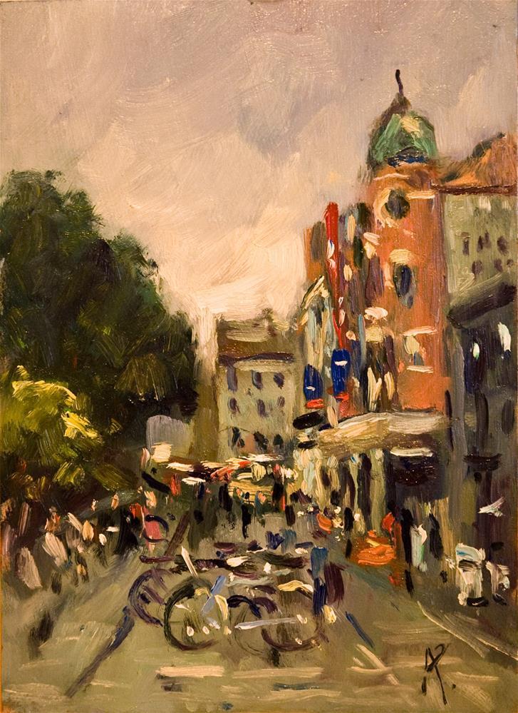 """""""Theatre Royal, Brighton"""" original fine art by Andre Pallat"""