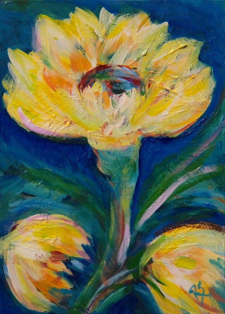 """""""Look to the Sun"""" original fine art by Roberta Schmidt"""