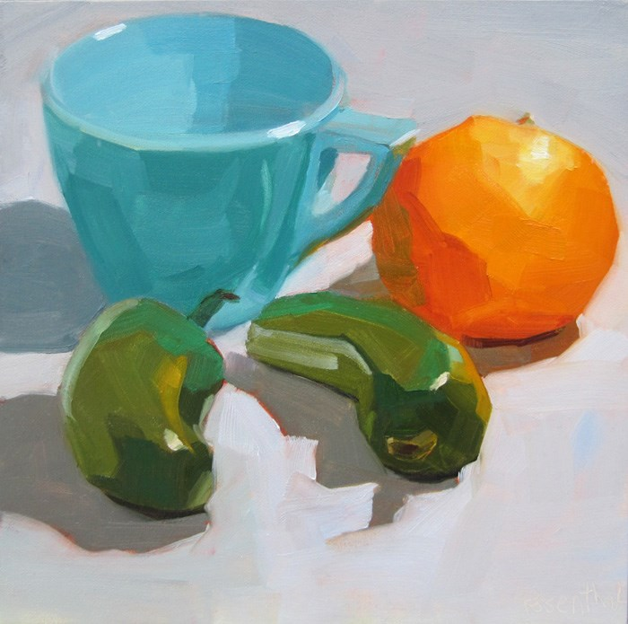 """The Premix Color Challenge"" original fine art by Robin Rosenthal"