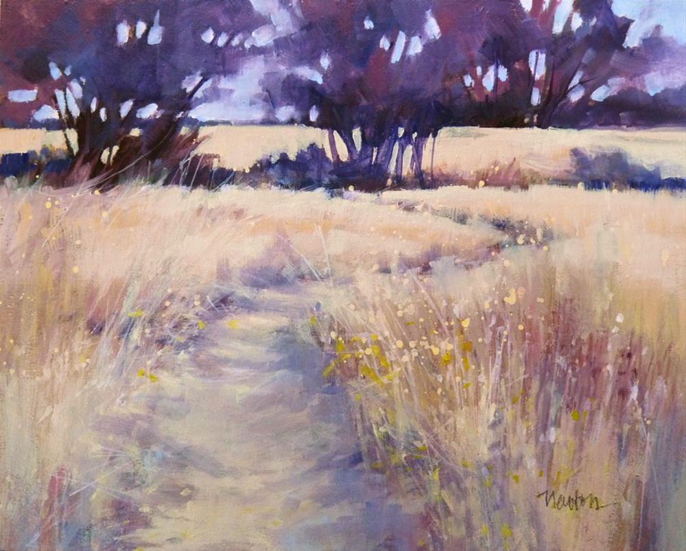 """""""Oil, Color Study 3"""" original fine art by Barbara Benedetti Newton"""