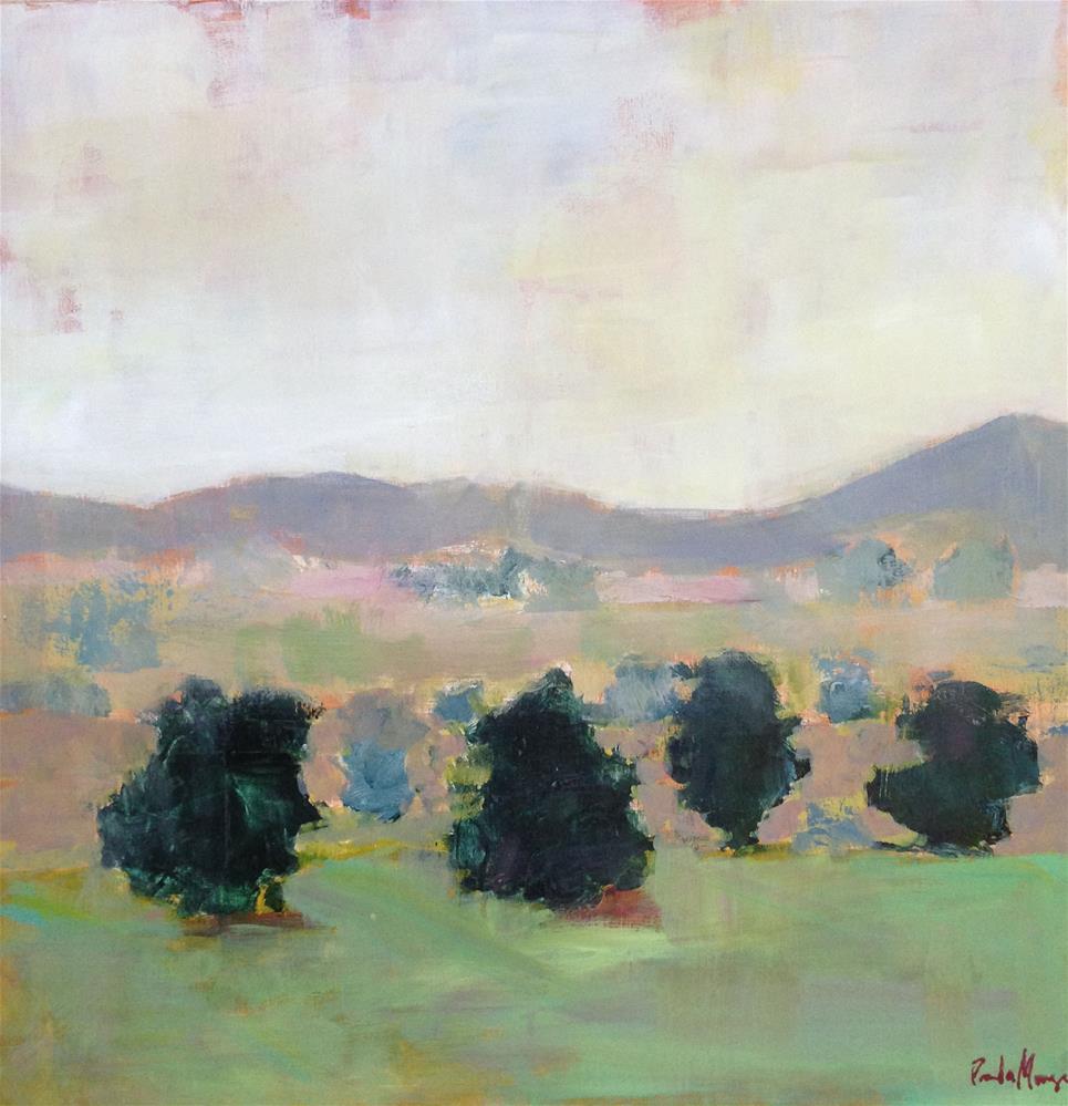 """Spring on the Mesa"" original fine art by Pamela Munger"