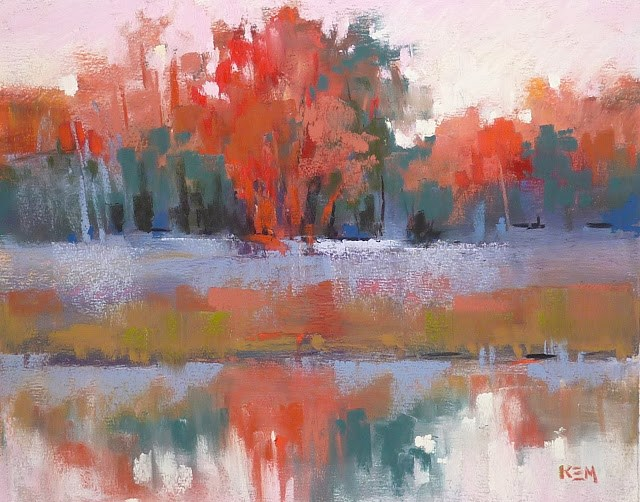 """Planning a Series of Paintings"" original fine art by Karen Margulis"