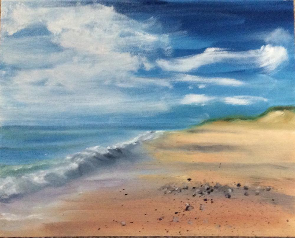 """A Walk"" original fine art by Patty Barnes"