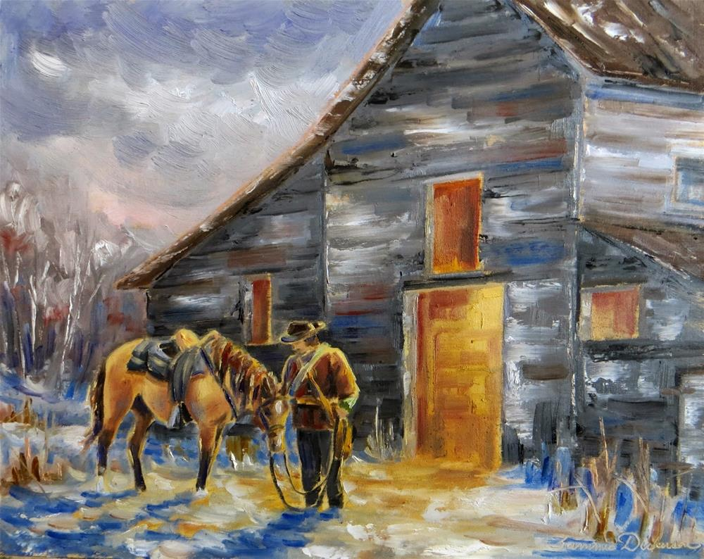 """""""Returning Home"""" original fine art by Tammie Dickerson"""