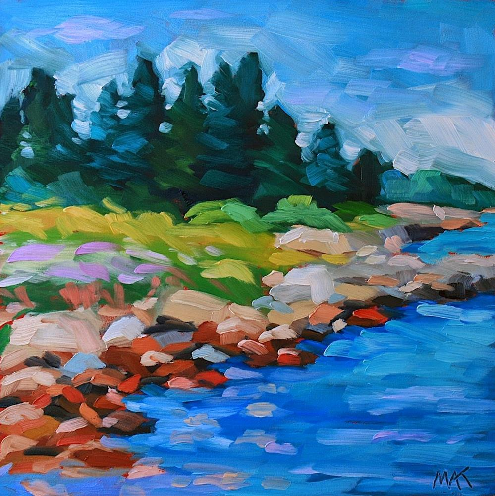 """""""Downeast"""" original fine art by Mary Anne Cary"""