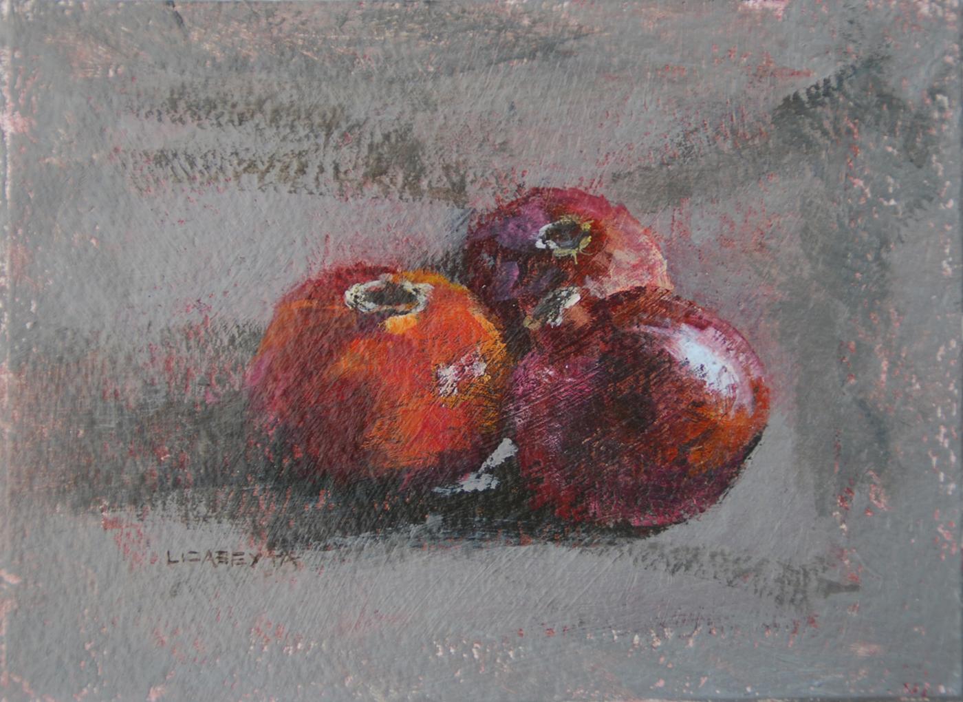 """Pomegranates 2"" original fine art by Liz Abeyta"
