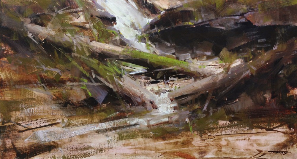 """The Metamorphosis"" original fine art by Tibor Nagy"