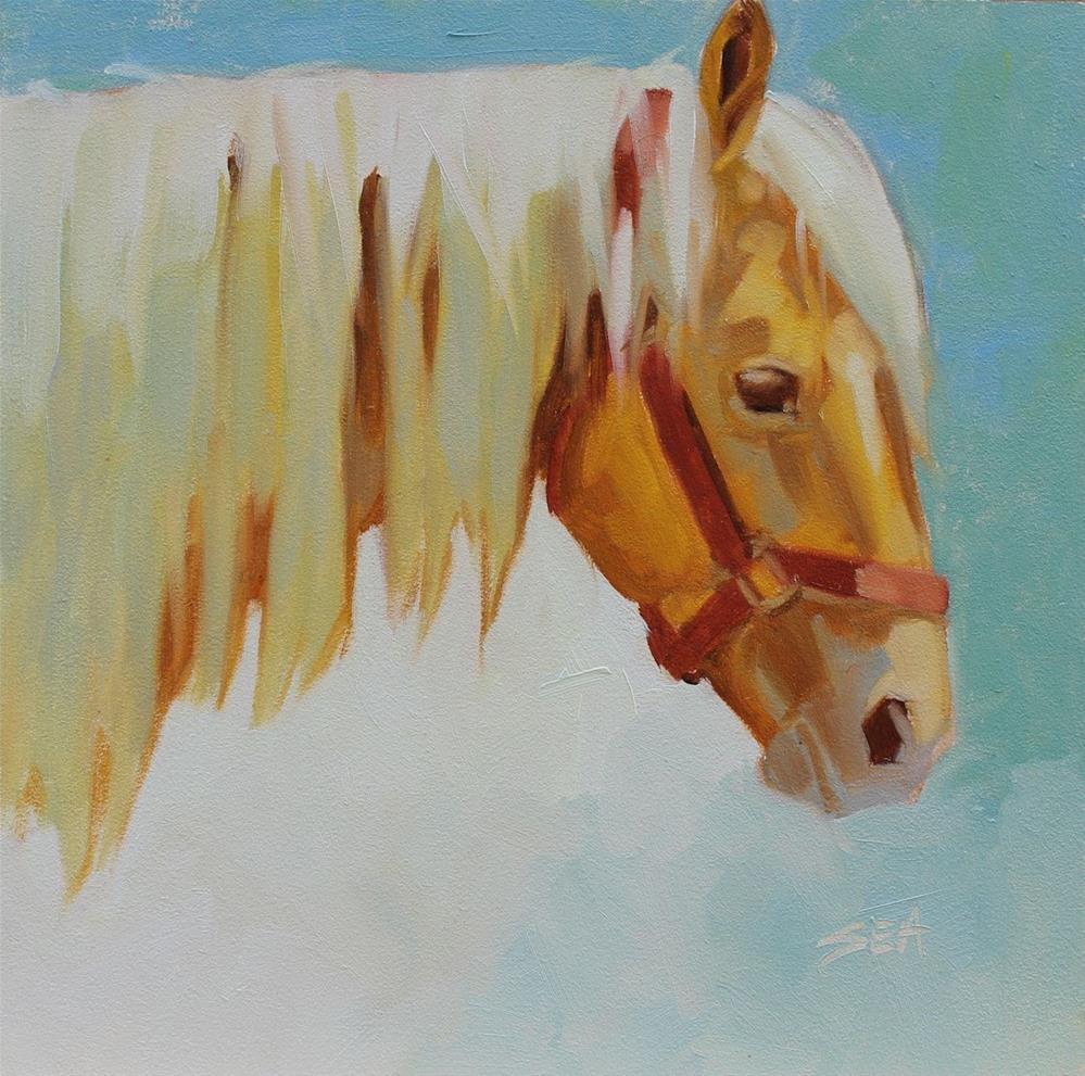 """Sebel"" original fine art by Susan Ashmore"
