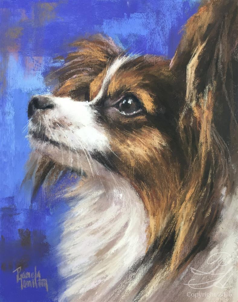 """Cosette"" original fine art by Pamela Hamilton"