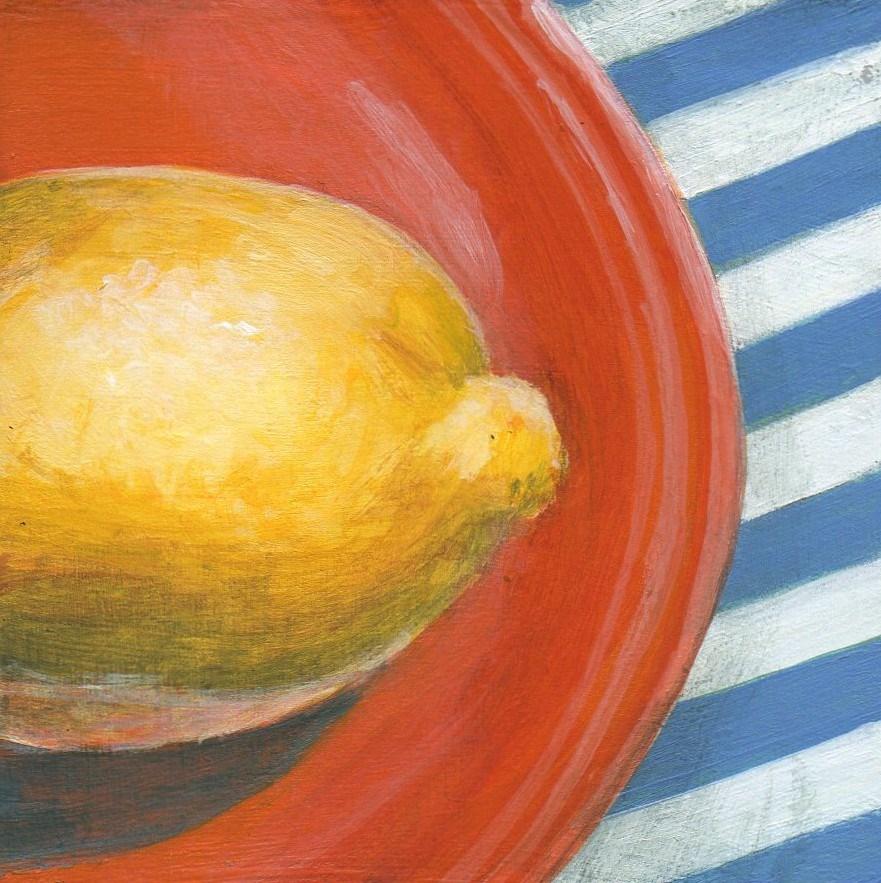 """Tight Squeeze"" original fine art by Debbie Shirley"