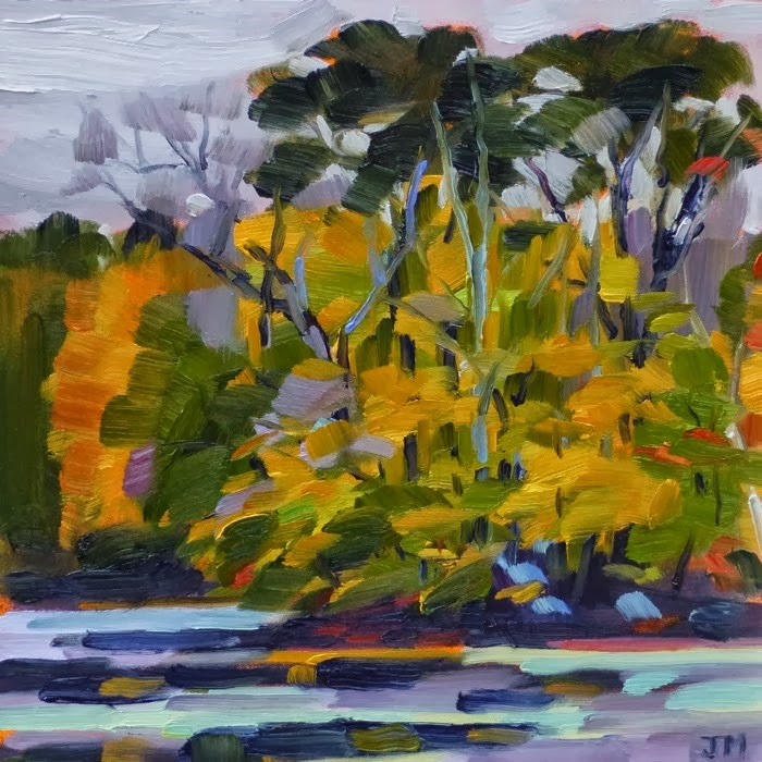 """Teatown Lake"" original fine art by Jessica Miller"