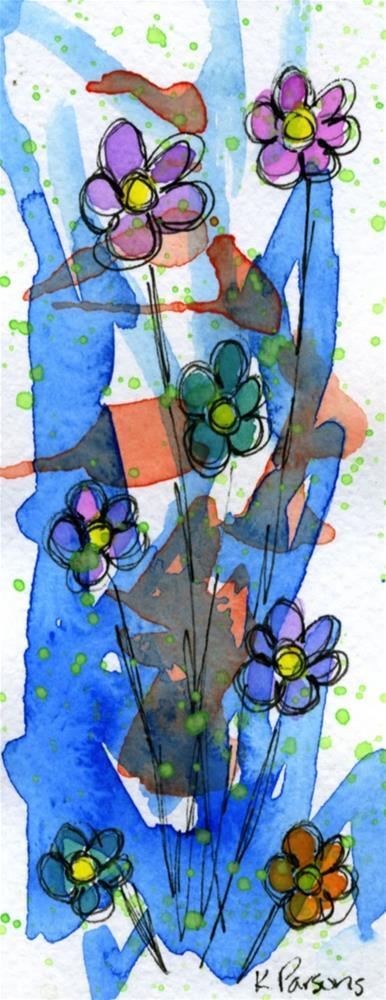 """""""Bursting Bouquet"""" original fine art by Kali Parsons"""