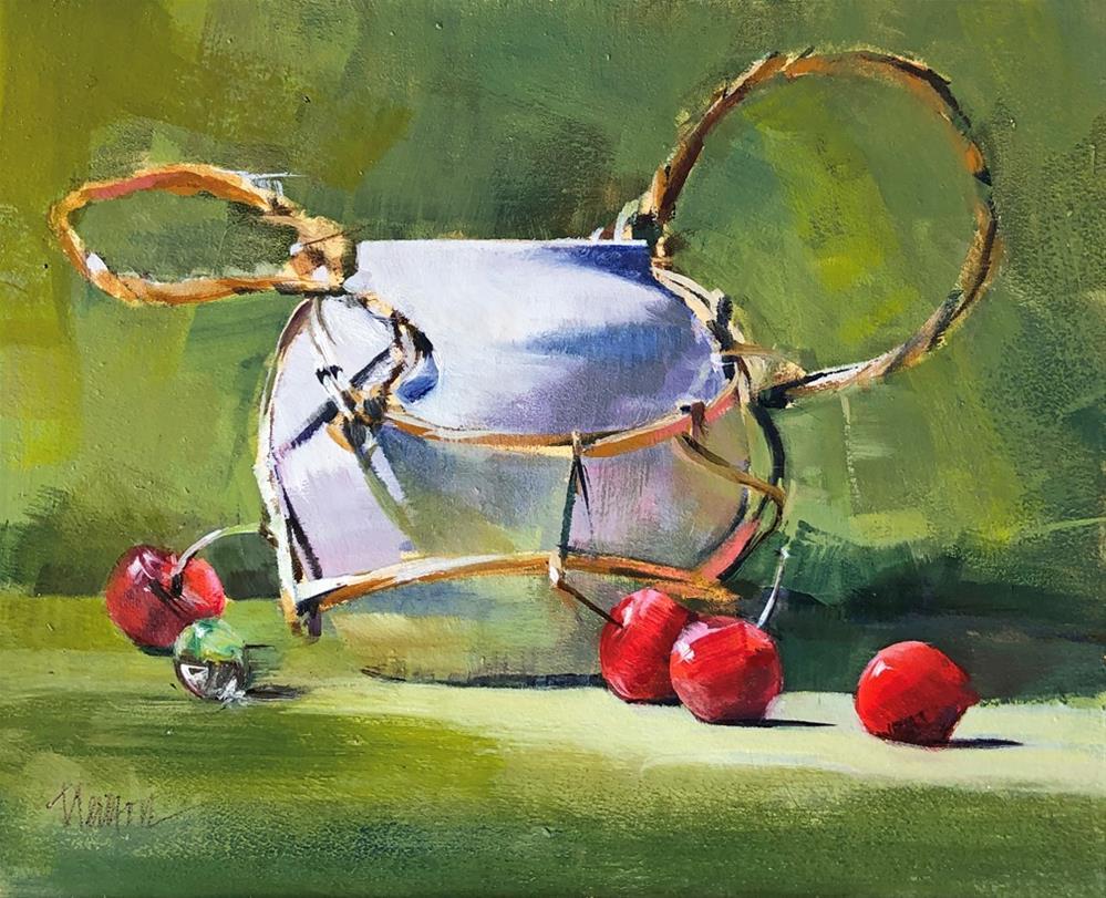 """Ginger Pot"" original fine art by Barbara Benedetti Newton"