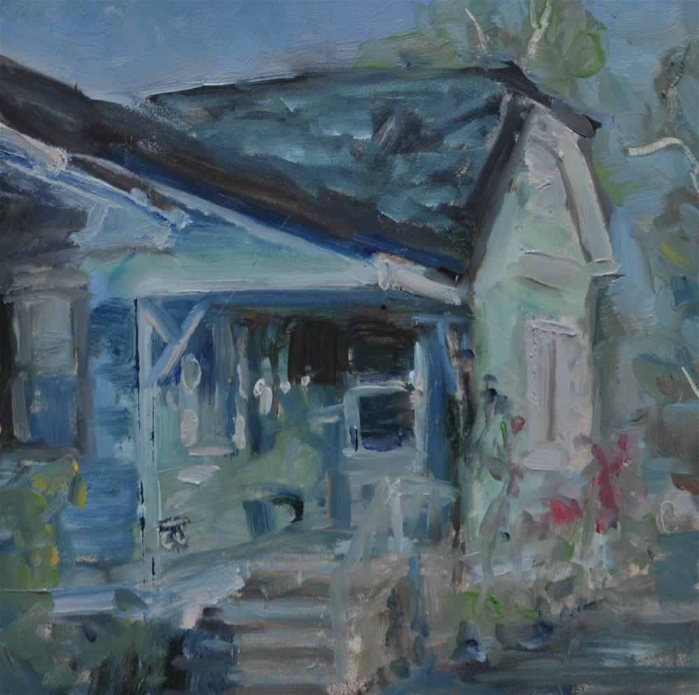 """""""House on 3rd and 9th"""" original fine art by Catherine Crookston"""