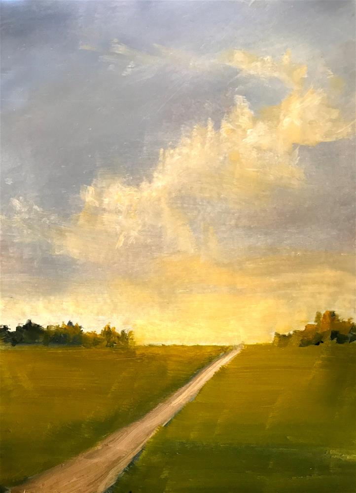 """The path"" original fine art by Betty Argiros"