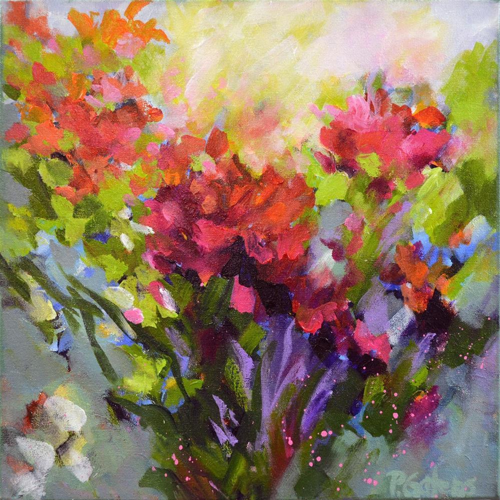 """""""Secret Garden"""" original fine art by Pamela Gatens"""
