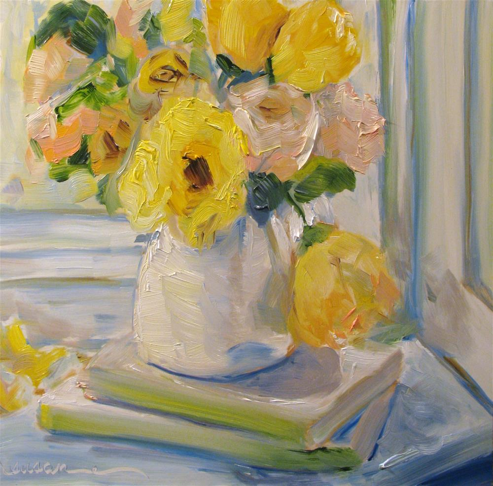 """Lady Mary's Roses"" original fine art by Susan Elizabeth Jones"
