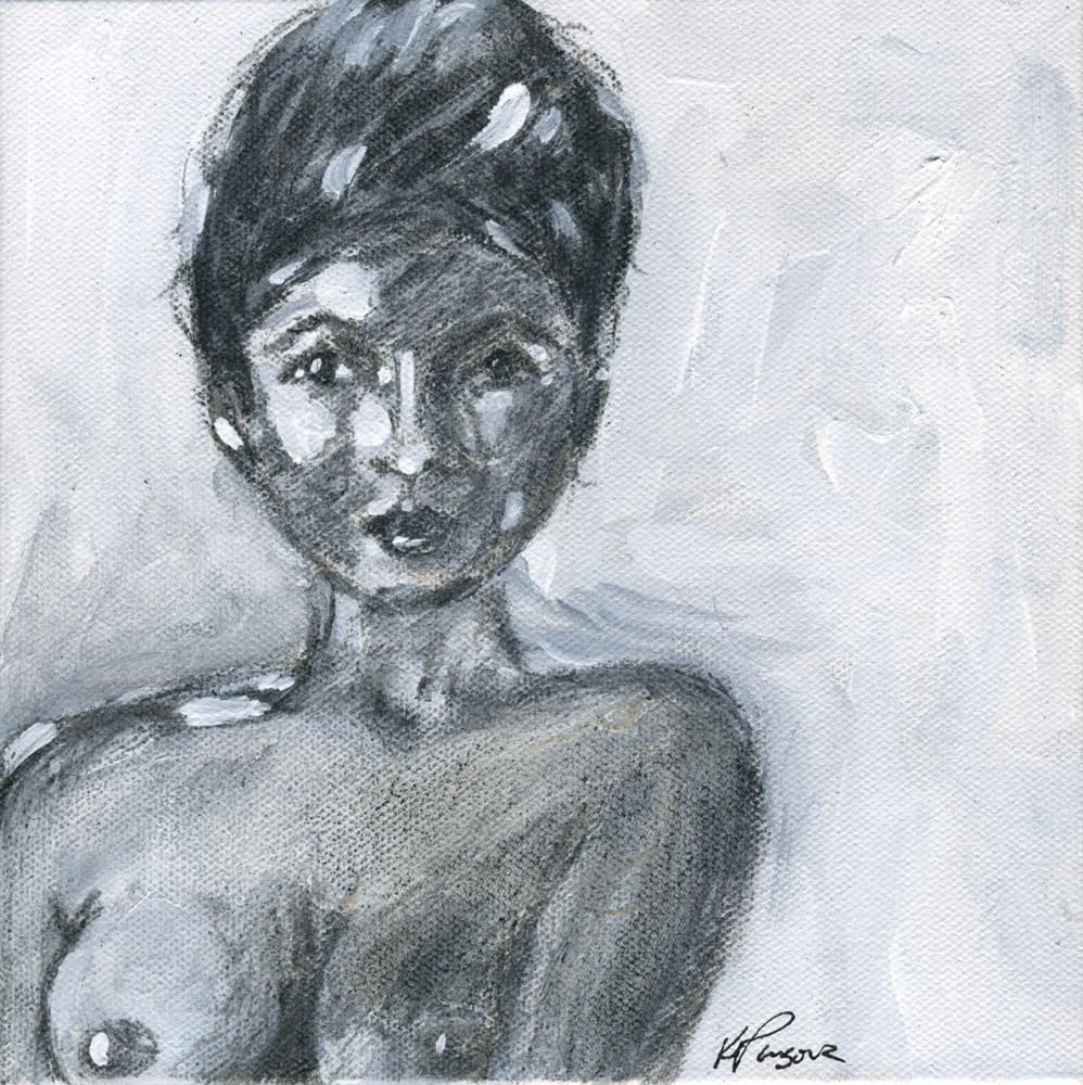 """Loving Yourself"" original fine art by Kali Parsons"