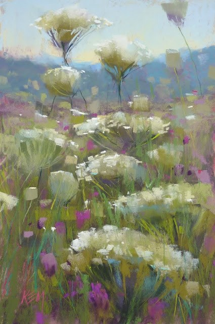 """""""A Tip for Painting From Reference Photos"""" original fine art by Karen Margulis"""