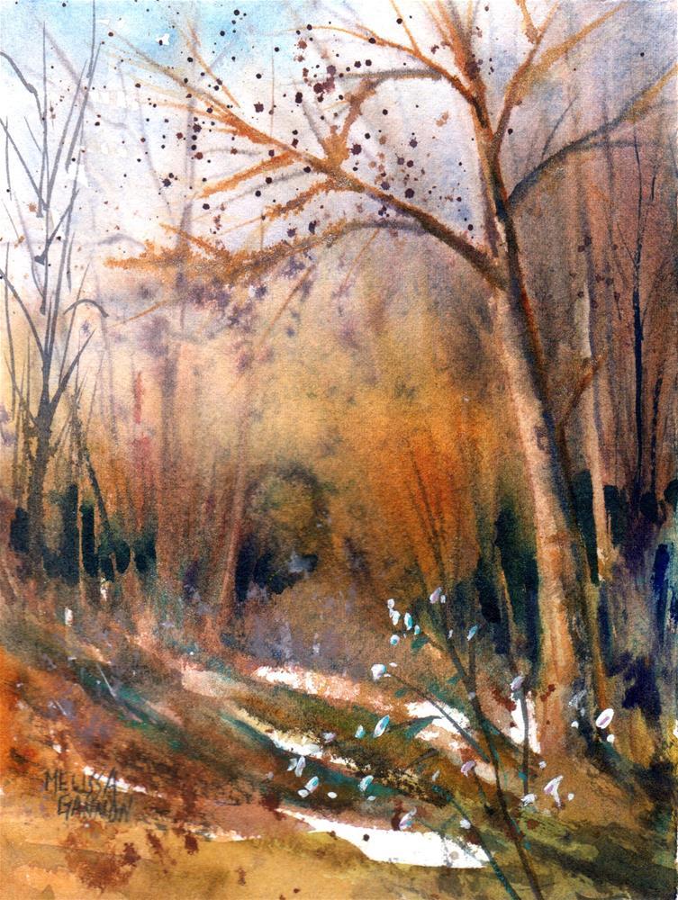 """A Moment in Winter"" original fine art by Melissa Gannon"