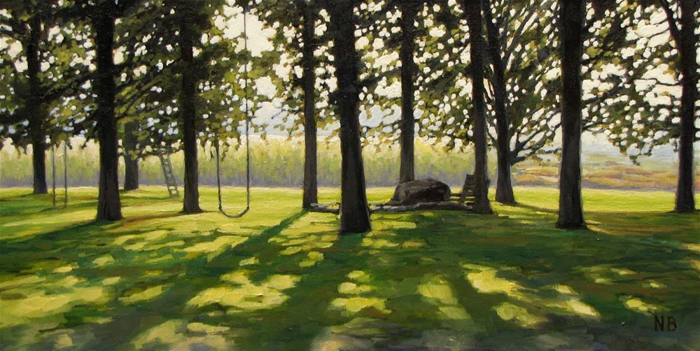 """Mornin', Sunshine!"" original fine art by Nora Bergman"