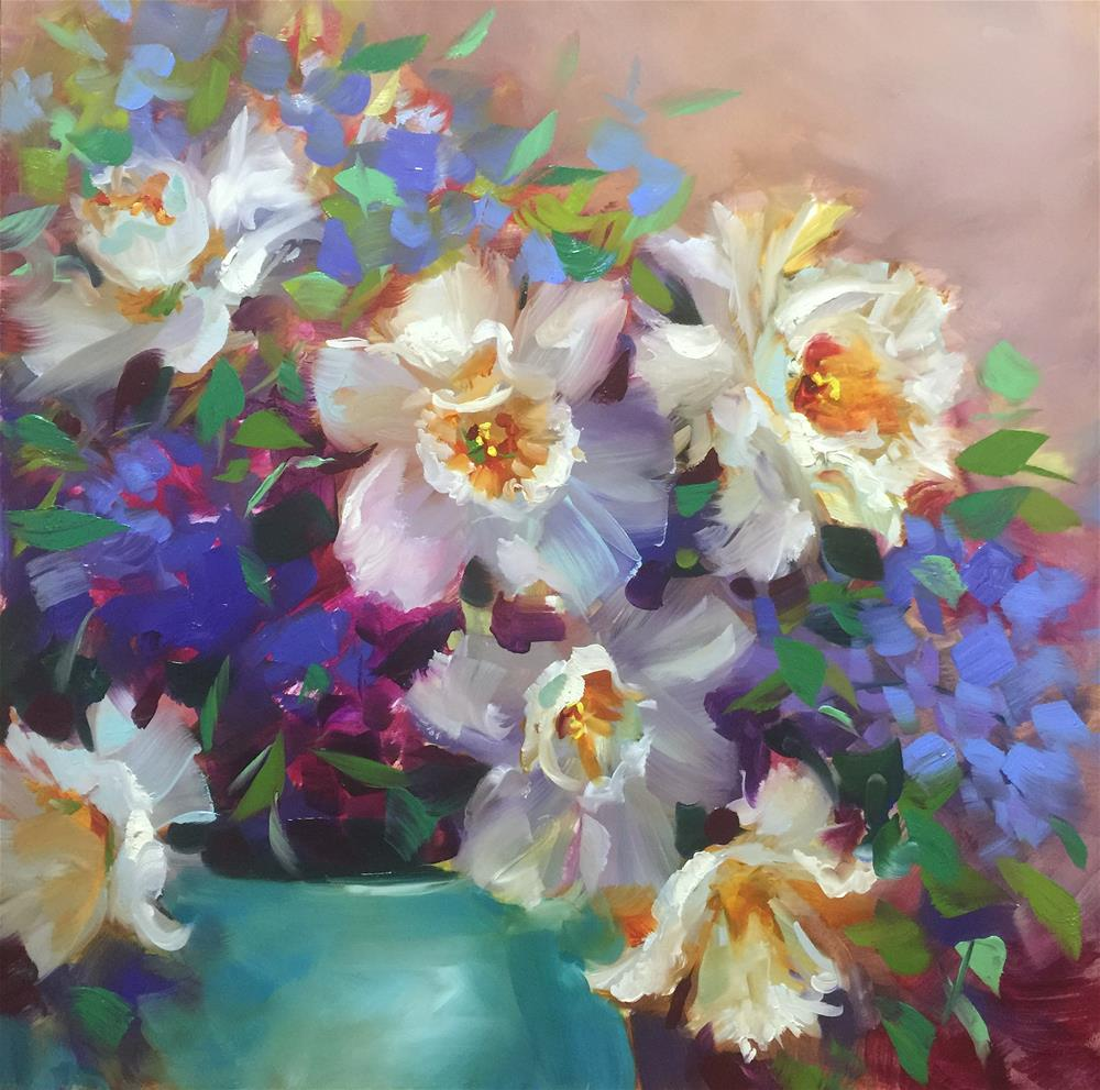 """Live Paintings and Online Classes - Nancy Medina Art"" original fine art by Nancy Medina"