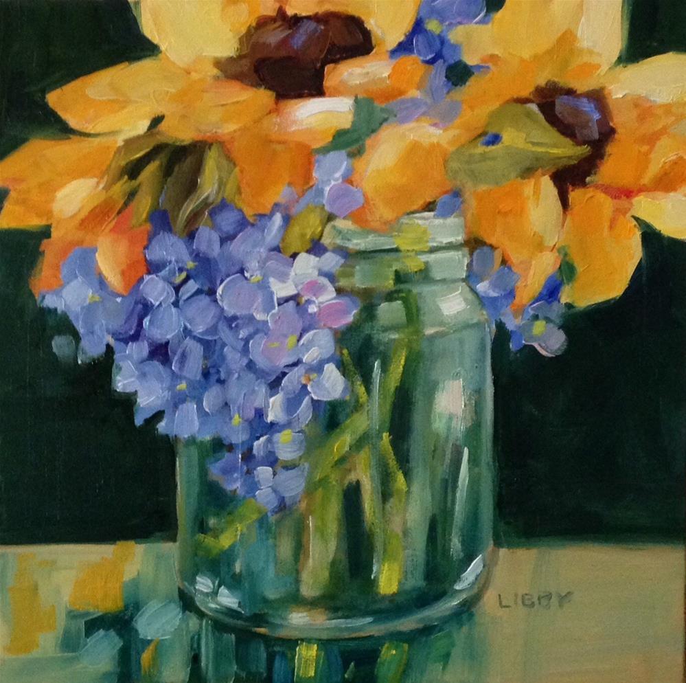 """""""Alchemy"""" original fine art by Libby Anderson"""