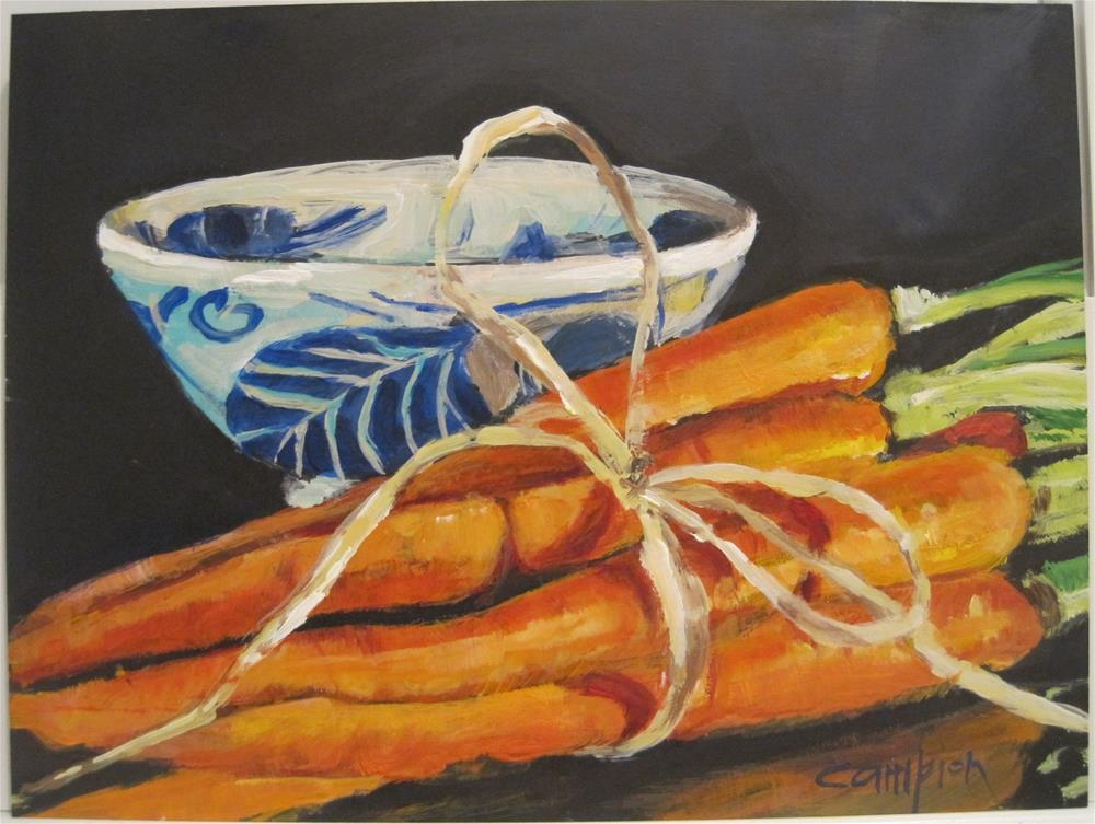 """443 Side Dish"" original fine art by Diane Campion"