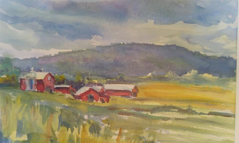 """""""Vermont Daze"""" original fine art by angela scully"""