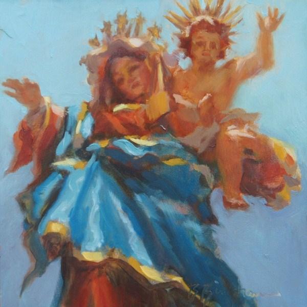 """""""Blessings"""" original fine art by Bruce Bingham"""