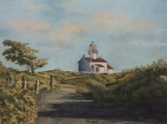 """Lomas Point"" original fine art by Christina Karras"