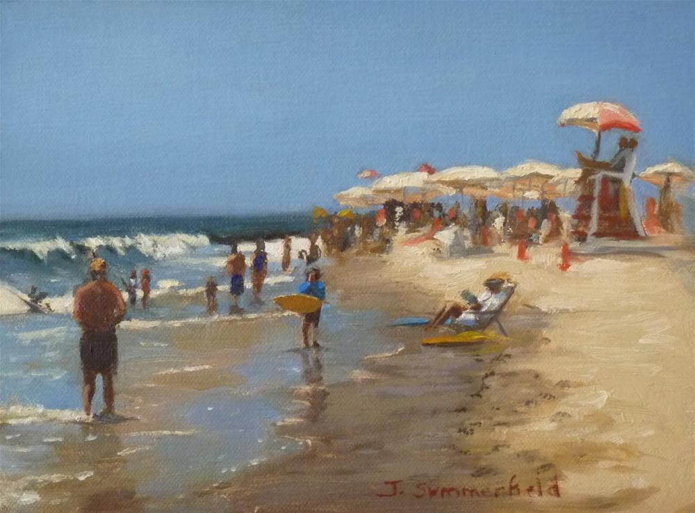 """""""Cape May Shore"""" original fine art by Jonelle Summerfield"""