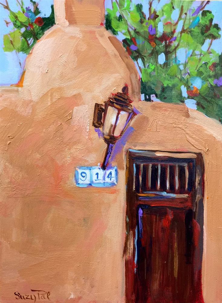 """Santa Fe #14"" original fine art by Suzy 'Pal' Powell"