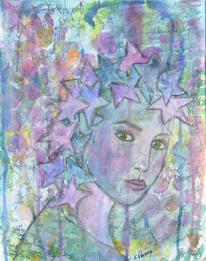 """""""A Secret Kept"""" original fine art by Kali Parsons"""